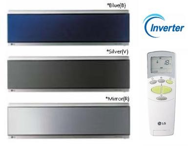 Кондиционеры LG Art Cool Mirror Inverter, C09AW(B/R/V), C12AW(B/R/V)